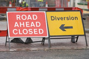Upcoming Derby Road Closure